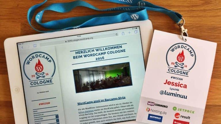 Das WordCamp Köln 2016 – Barcamp Edition