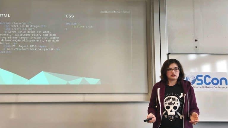 Vortrag auf der FrOsCon: Einstieg in CSS Grid
